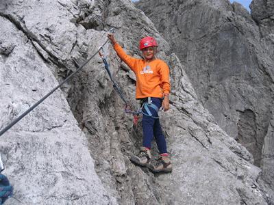 Klettersteig Kinder : Aufbaukurs kinder am klettersteig kletterservice s webseite