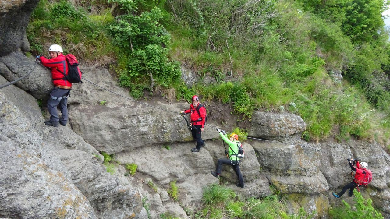 Klettersteig Riegersburg : Klettersteig riegersburg ersatztour speikkogel