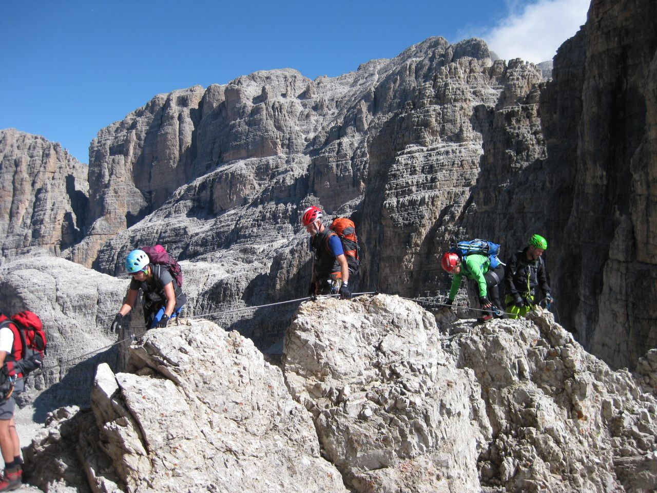 Klettersteig Arco : Klettersteig in der nähe von arco via ferrata ernesto che guevara