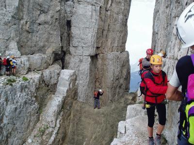 Klettersteig Dolomiten : Dolomiten klettersteige alpenverein