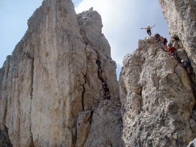Klettersteig Dolomiten : Klettersteige in den dolomiten trentino südtirol bellunese und
