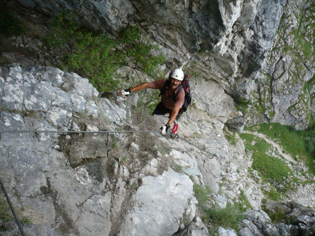 Klettersteig Attersee : Klettersteig mahdlgupf attersee