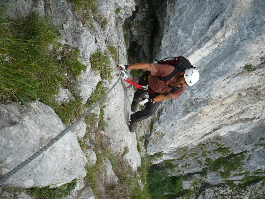 Klettersteig Attersee : Attersee klettersteig u mahdlgupf m flickr
