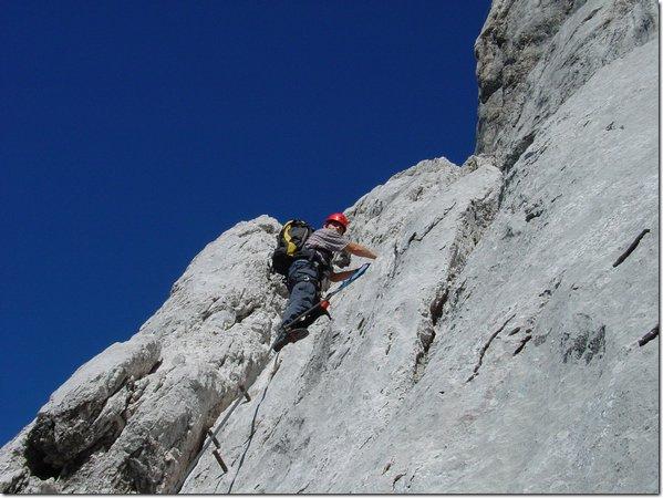 Klettergurt Gelbox : Klettersteig johann: dachstein johann extrem youtube.