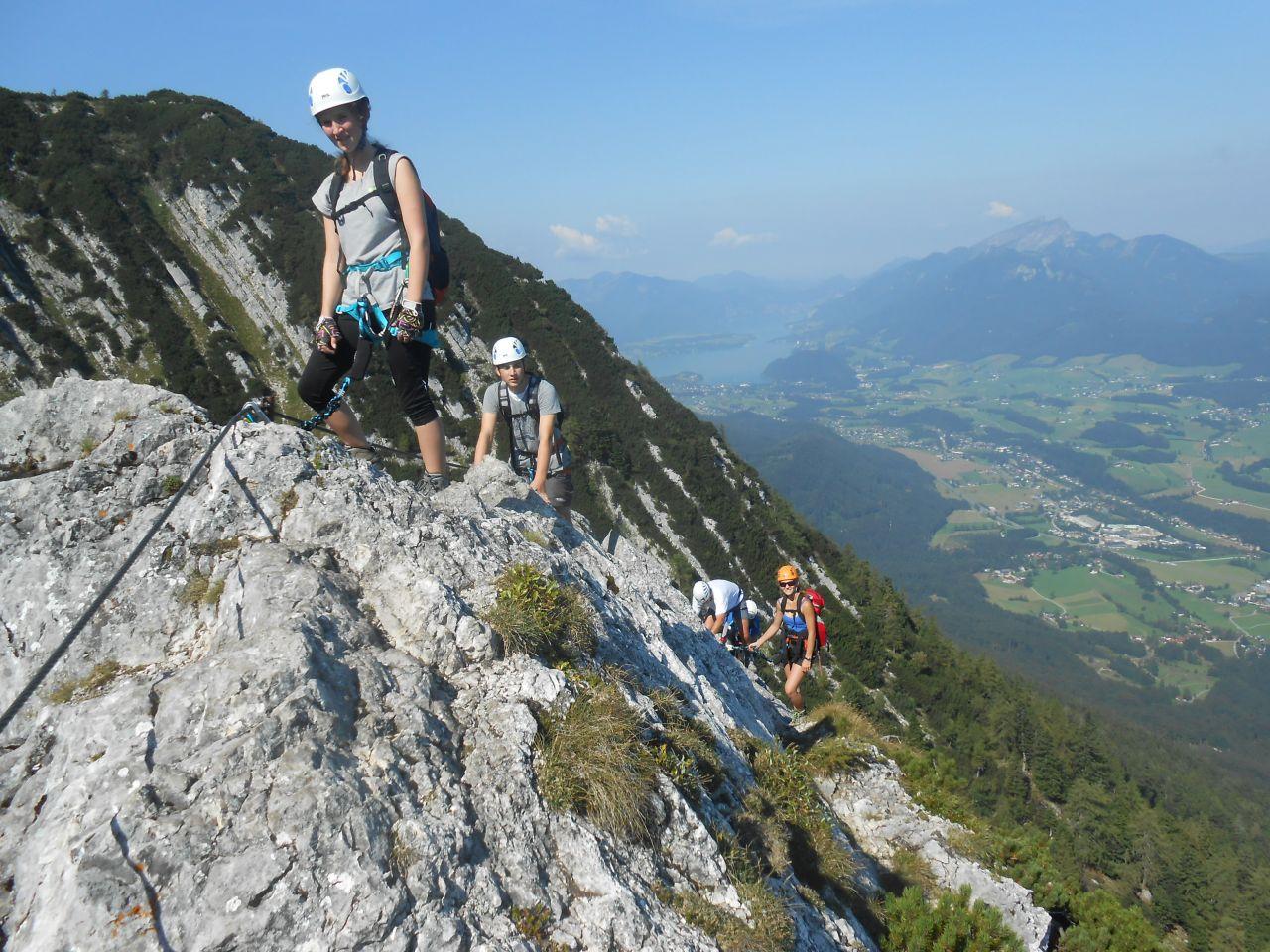 Klettersteig Katrin : Katrin klettersteig alpenverein