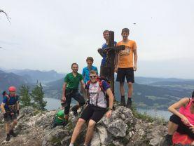Klettersteig Attersee : Attersee klettersteig mahdlgupf d climbingmischas webseite