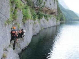 Klettersteig Gosau : Klettersteige in hallstatt und gosau alpenverein