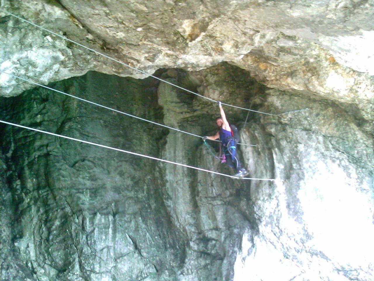 Klettersteig Leopoldsteinersee : Klettersteig eisenerz alpenverein