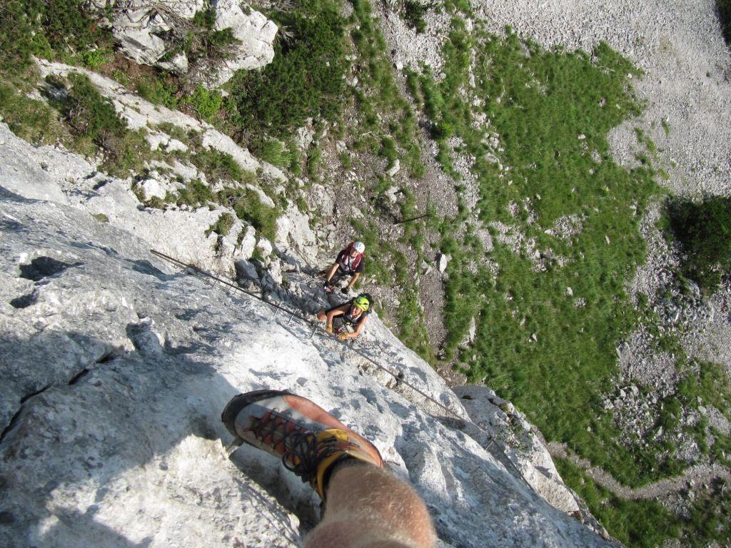 Pidinger Klettersteig : Pidinger klettersteig alpenverein