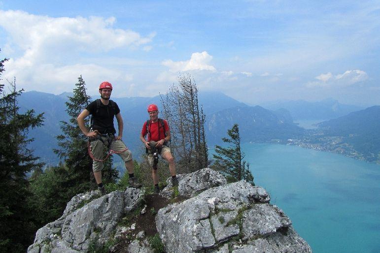 Klettersteig Mahdlgupf : Mahdlgupf u2013 klettersteig alpenverein