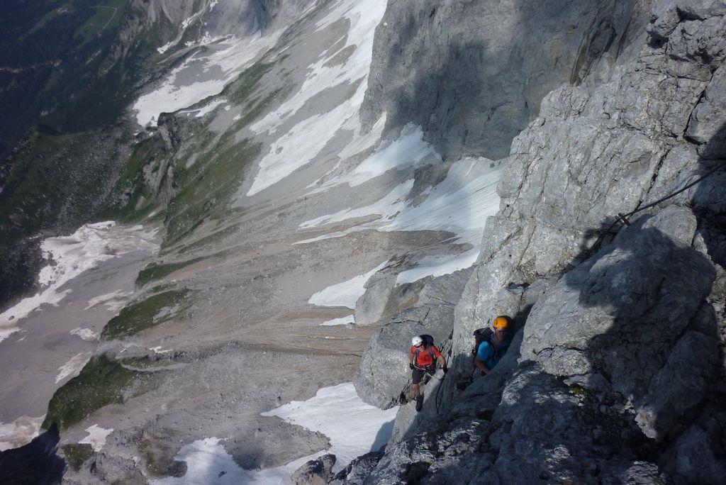 Dachstein Klettersteig Johann : Über höhenmeter am dachstein rekord klettersteig wird