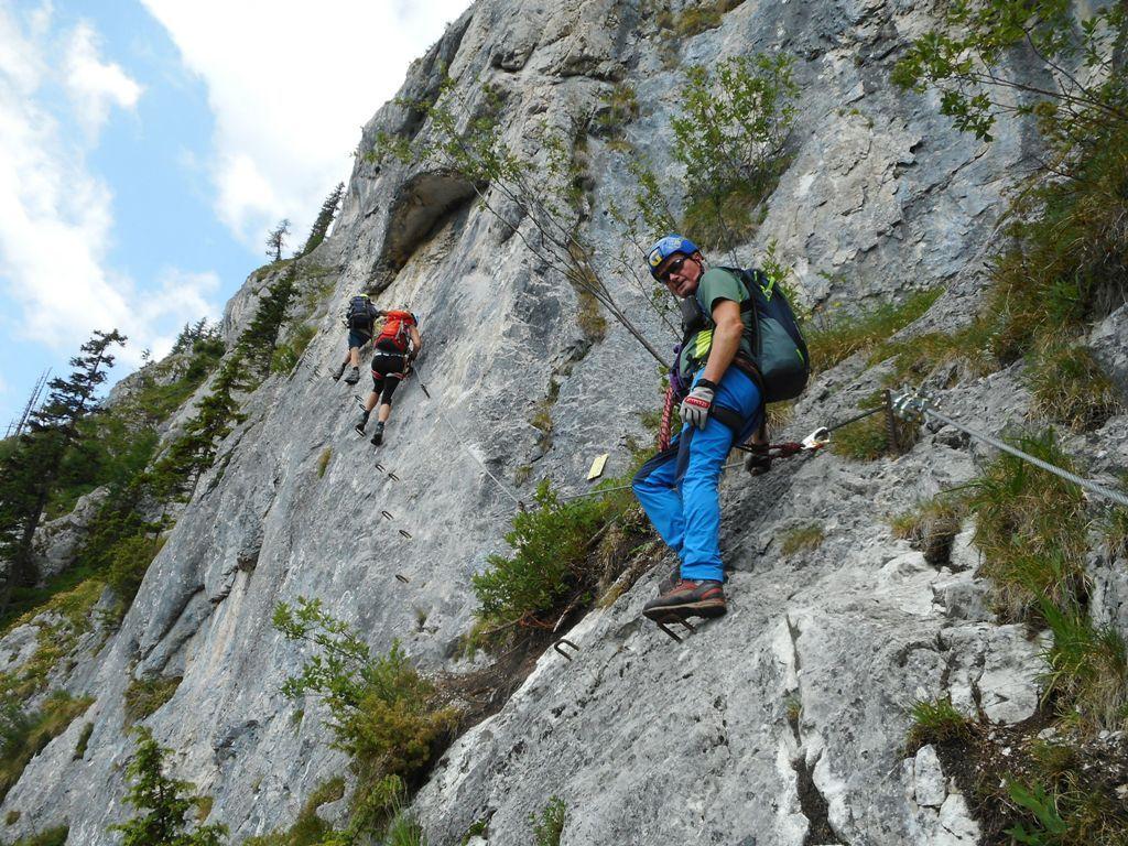 Klettersteig Himmelsleiter : Klettersteig spielmäuer himmelsleiter alpenverein