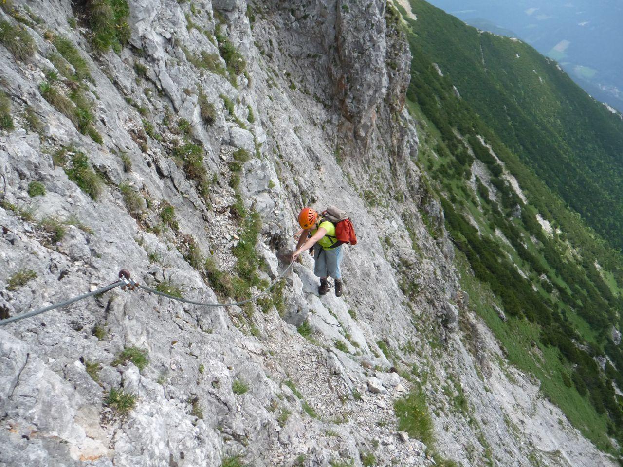 Klettersteig Rax : Klettersteig bismarcksteig b rax alpenverein