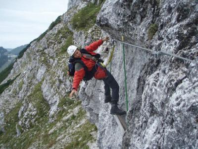 Klettersteig Mödling : Heli kraft klettersteig c hochkar alpenverein
