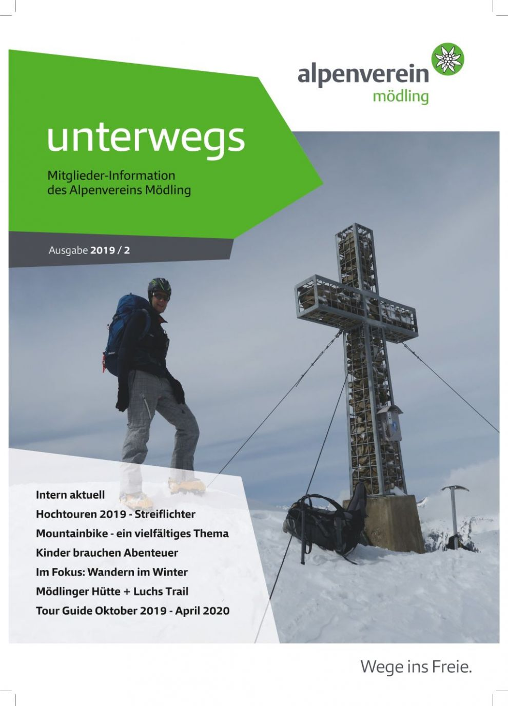 "Cover ""unterwegs"" 2019 / 2"