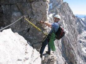 Klettersteig Johann Dachstein : Johann klettersteig dachstein alpenverein