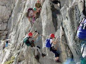 Y Set Klettersteig : Die klettersteigsaison hat begonnen alpenverein