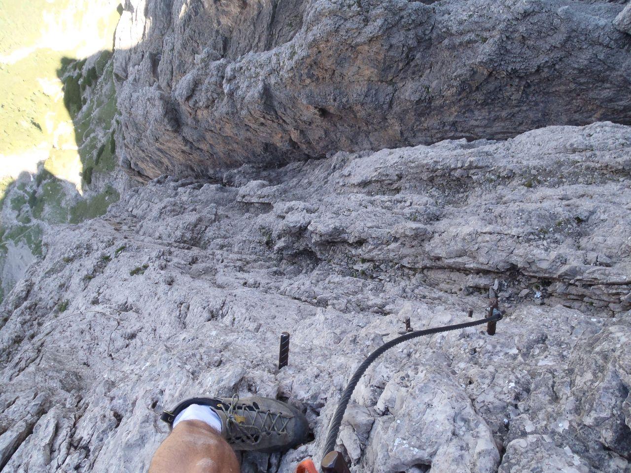 Klettersteig Lienz : Laserz klettersteig lienzer dolomiten im aug alpenverein