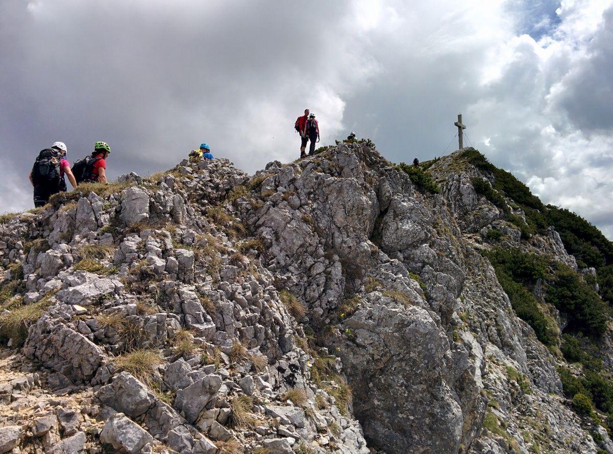 Eisenerzer Klettersteig : Eisenerzer klettersteig alpenverein