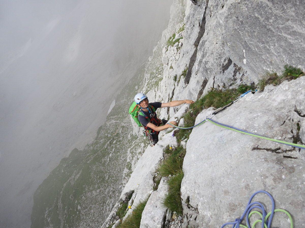 Klettersteig Wilder Kaiser Ellmauer Halt : Ellmauer halt gamsängersteig klettersteig tourentipp