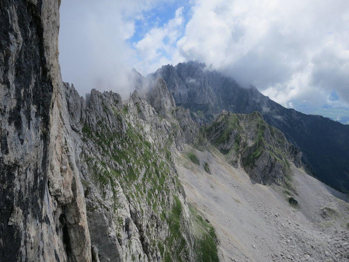 Klettersteig Wilder Kaiser Ellmauer Halt : Gamsängersteig auf den ellmauer halt der höchste punkt am wilden