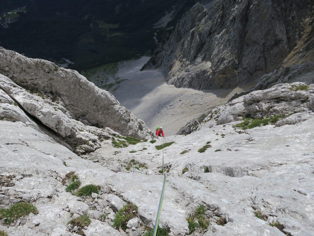 Klettersteig Wilder Kaiser Ellmauer Halt : Klettern klettersteig wilder kaiser alpenverein