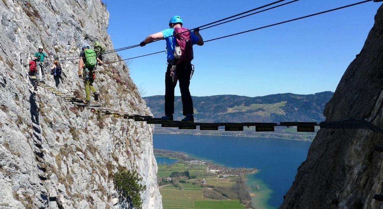 Klettersteig Drachenwand : Klettersteig drachenwand alpenverein