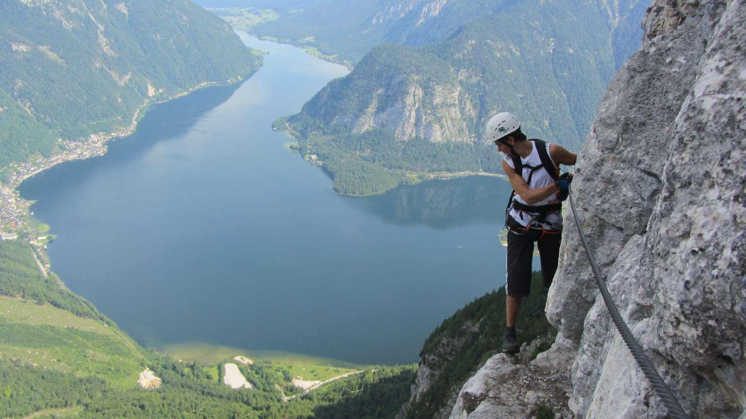 Klettersteig Seewand : Seewand klettersteig alpenverein