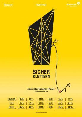 Flyer Sicher Klettern Tour