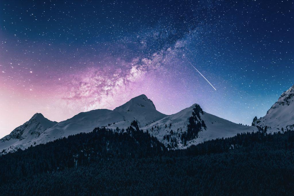 Perseidenschauer Wo Sind Nur Die Sternschnuppen Geblieben Alpenverein