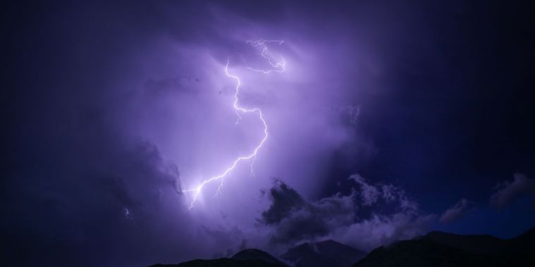 Gewitter am Berg: Was tun?