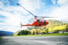 Helicopter rescue costs are included!