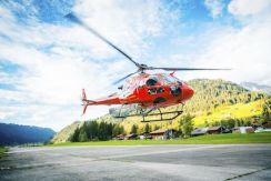 Helicopter rescue costs are included