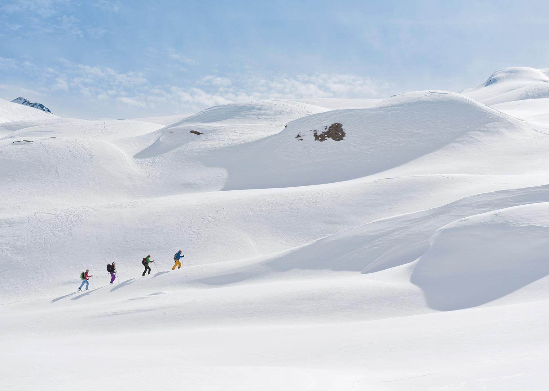 Skitour in den Ötztaler Alpen (Foto: Alpenverein/Norbert Freudenthaler)