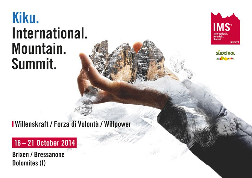 'International Mountain Summit (IMS) in Brixen'