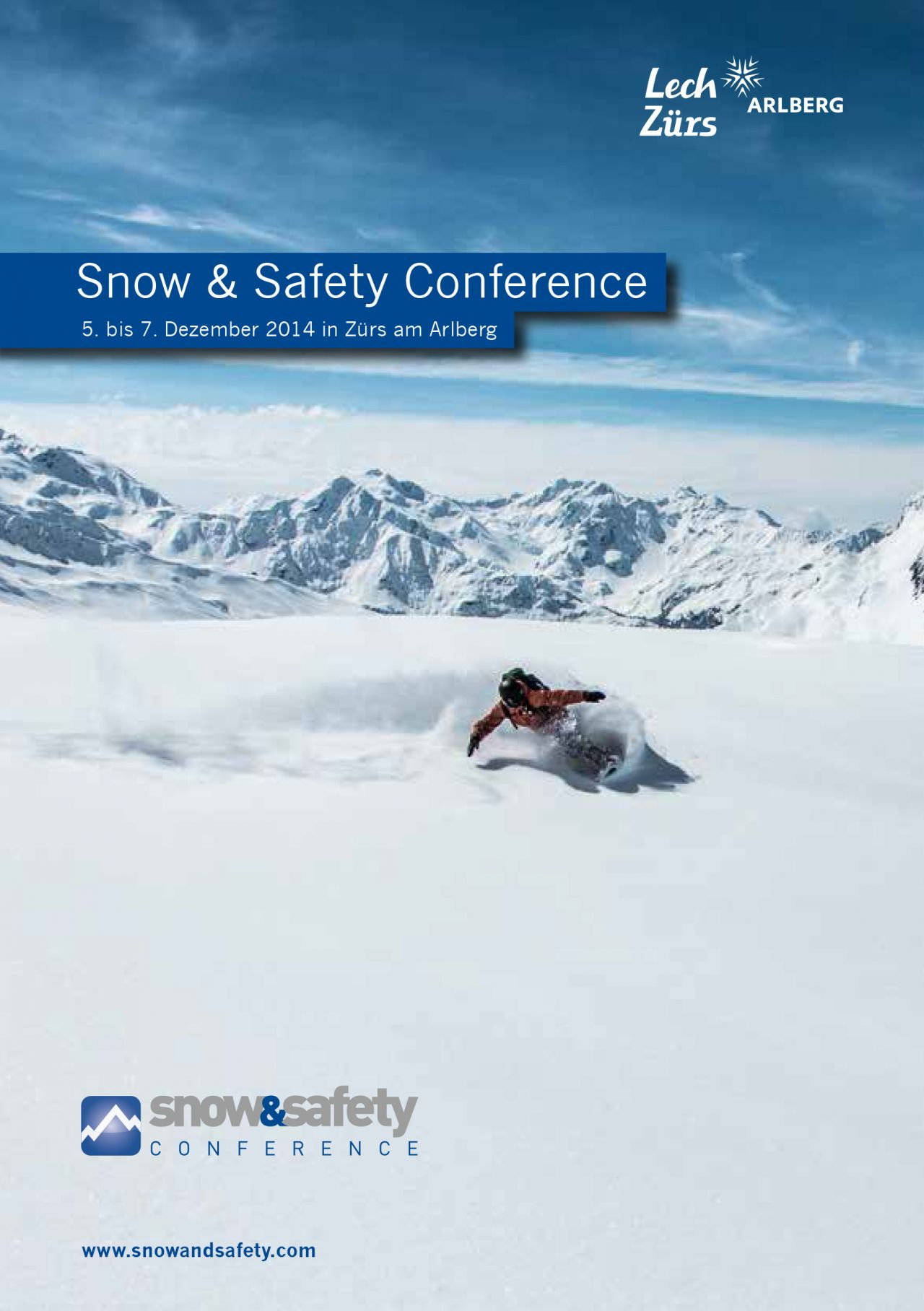 'Snow & Safety Conference - Zürs am Arlberg'