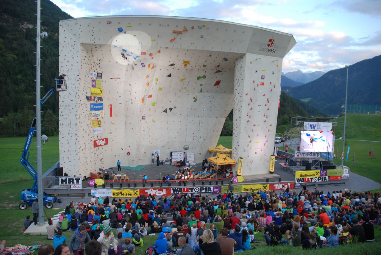 'European Youth Cup - Kletterbewerb in Imst'
