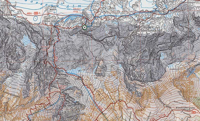 Vorarlberg Karte Berge.Alpenvereinskartographie Alpenverein