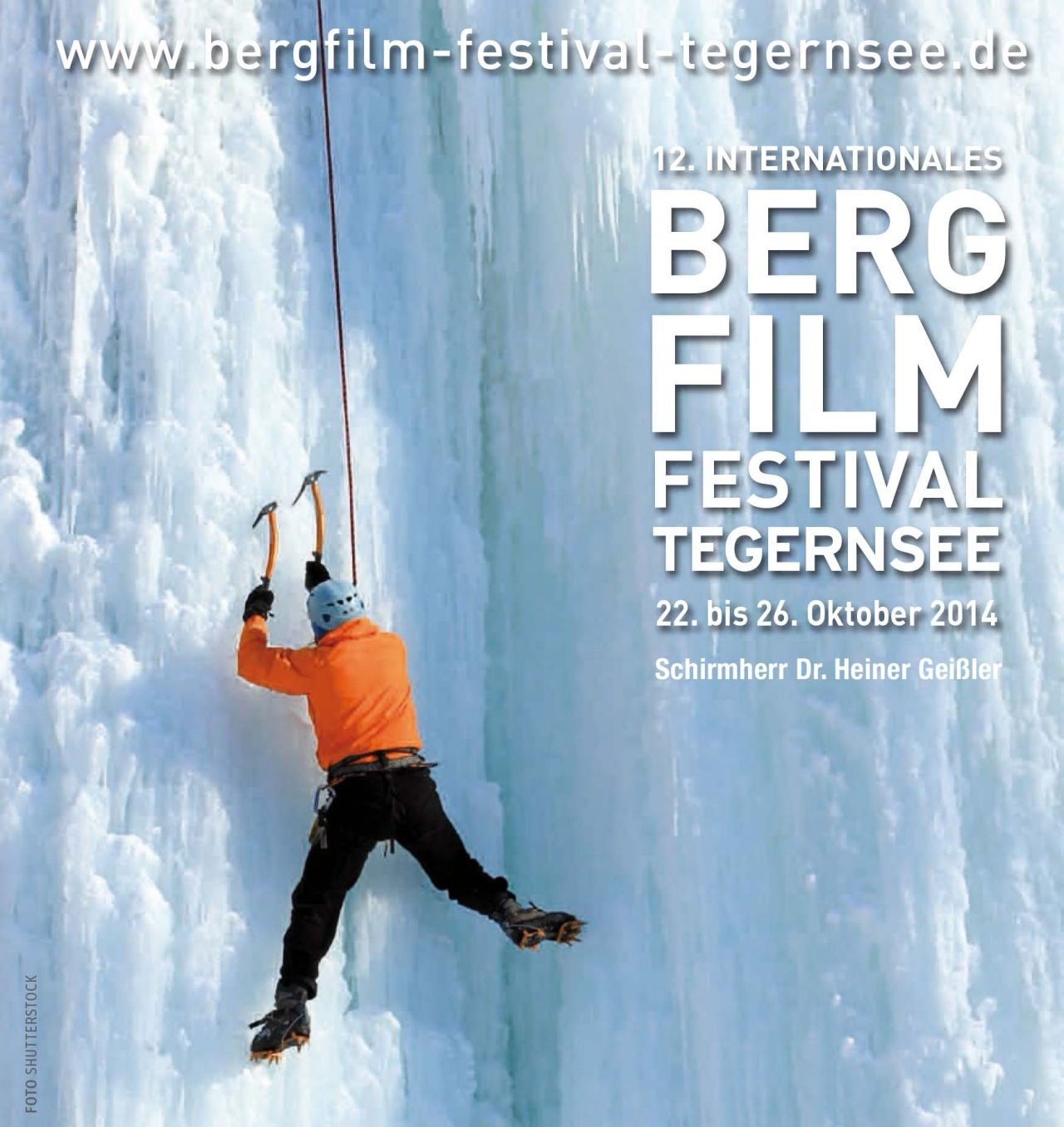 '12. Internationales Bergfilmfestival Tegernsee'