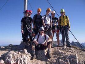 Friedberger Klettersteig : Friedberger klettersteig mit der jungmannschaft alpenverein