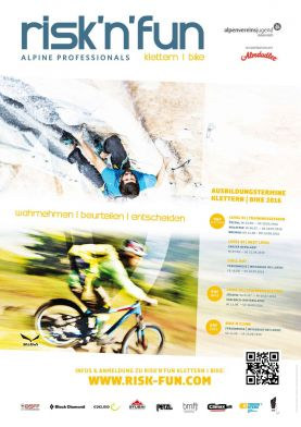 risk'n'fun Klettern I Bike 2016