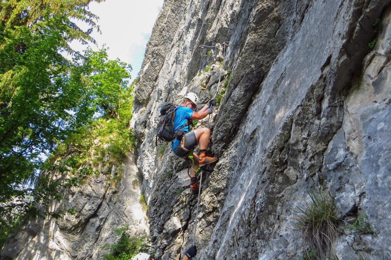 Franz Josef Klettersteig : Fotogalerie tourfotos fotos zur klettersteig tour