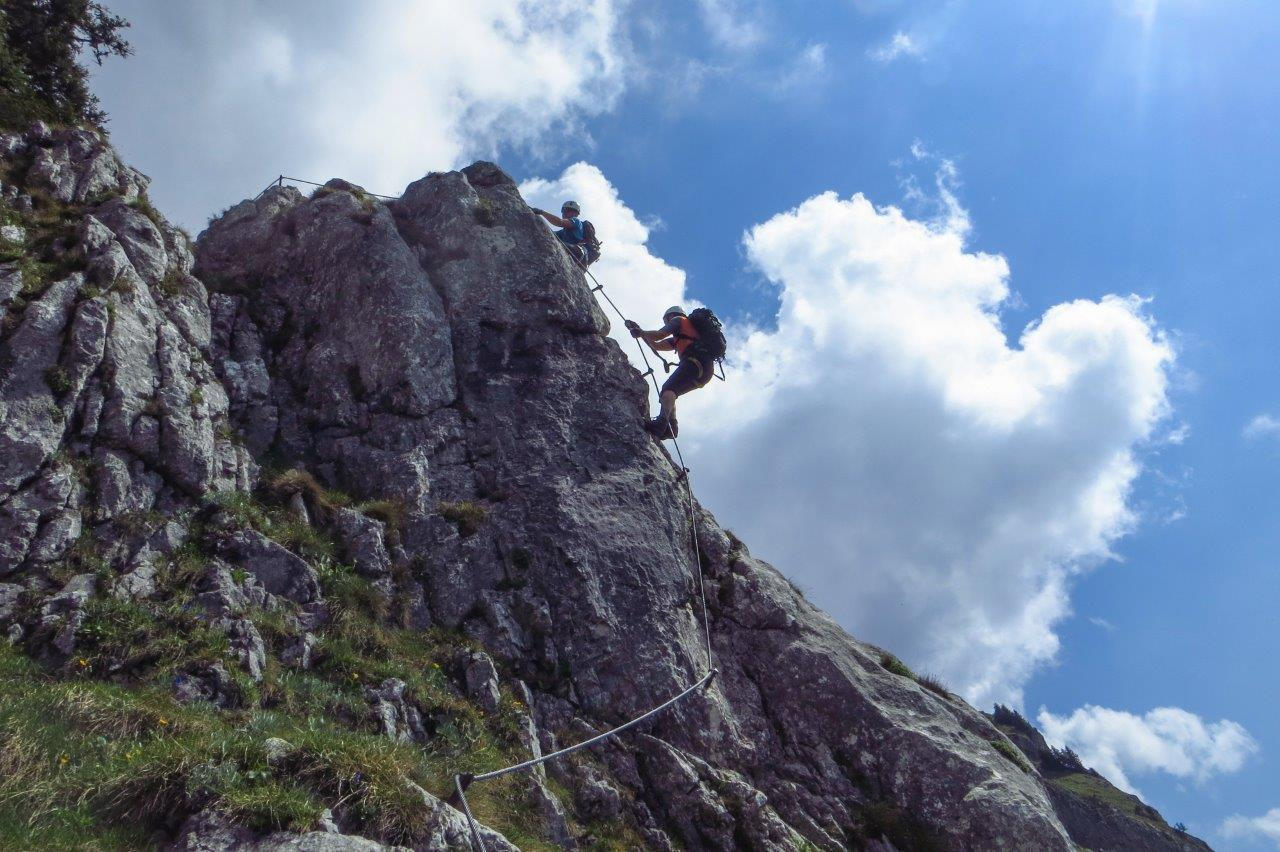Franz Josef Klettersteig : Kaiser franz josef klettersteig