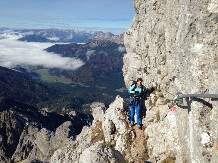 Klettersteig Buchstein : Großer buchstein alpenverein