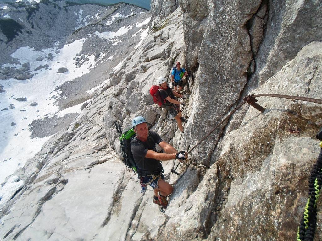 Klettersteig Priel : Klettersteig gr. priel 12. 13. juni alpenverein