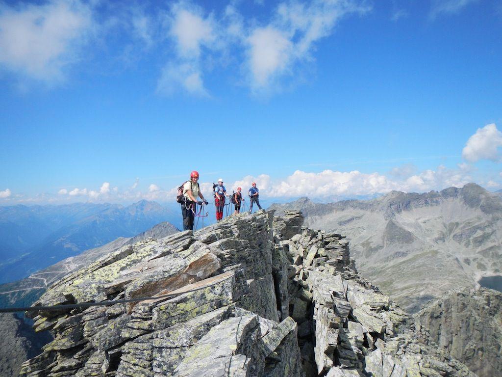 Klettersteig Kärnten : Anspruchsvolle klettersteige in osttirol und kärnten alpenverein