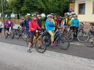 Radtour nach Wels am Di., 13. August 2019.