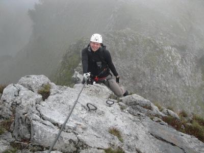 Eisenerzer Klettersteig : Eisenerzer klettersteig auf den pfaffenstein 1.865 m am samstag