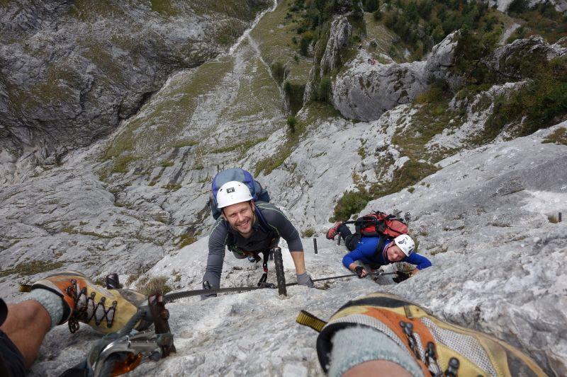 Franz Josef Klettersteig : Kaiser franz joseph klettersteig auf die seemauer 1.649 m am