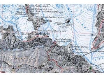 Dachstein Karte.Shop Produkt Alpenverein